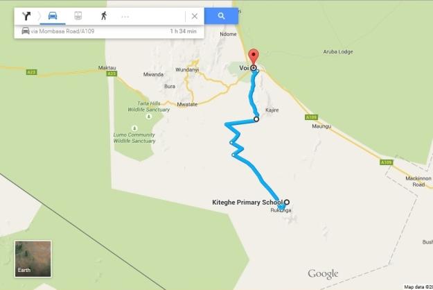 Kasigau Map