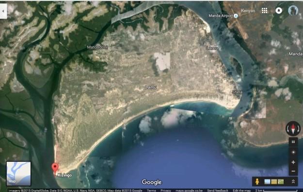 map kizingo